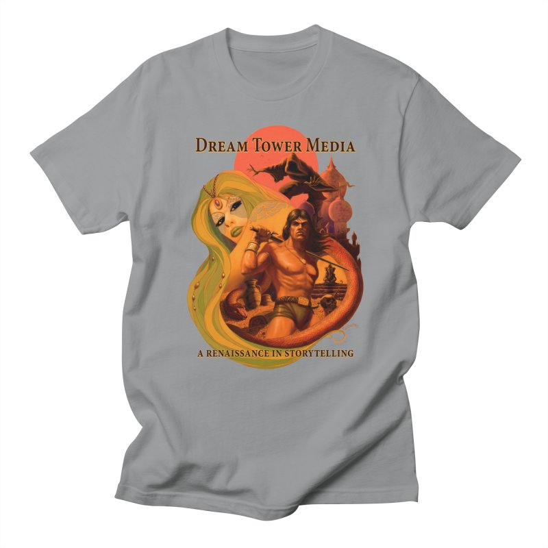 Dream Tower Media Fantasy Adventure Poster Women's Regular Unisex T-Shirt by ZoltanArt