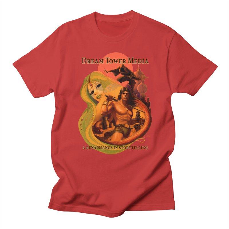 Dream Tower Media Fantasy Adventure Poster Women's Unisex T-Shirt by ZoltanArt
