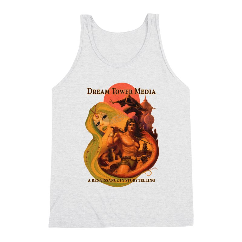 Dream Tower Media Fantasy Adventure Poster Men's Tank by ZoltanArt