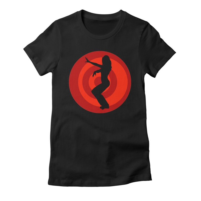 Seduction Revolution: The Most Dangerous Girl in the World (no text version) Women's Fitted T-Shirt by ZoltanArt