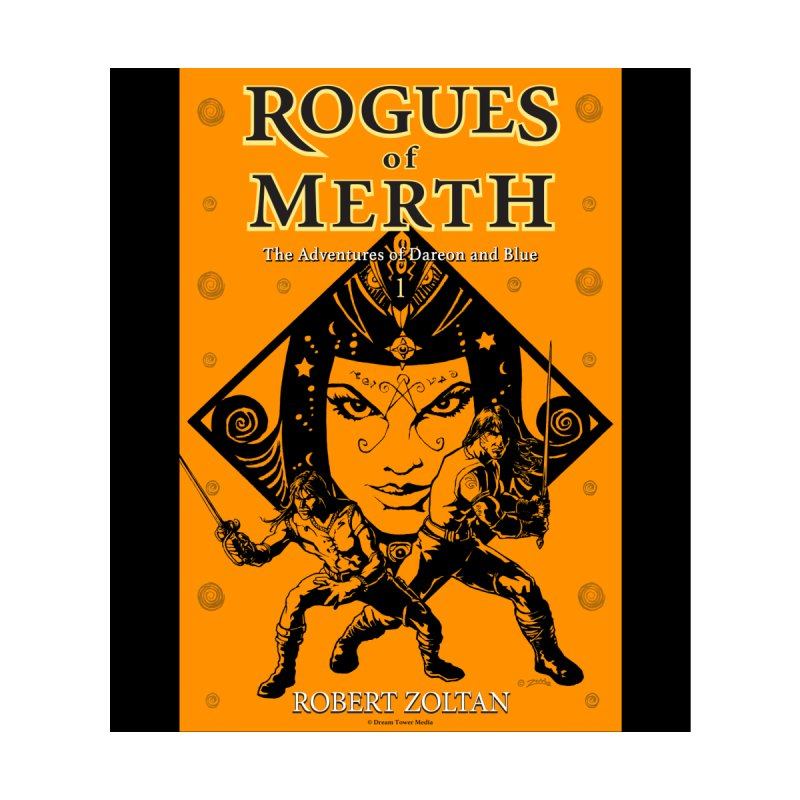 Rogues of Merth, Book 1 Cover Men's Zip-Up Hoody by ZoltanArt