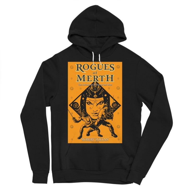 Rogues of Merth, Book 1 Cover Men's Sponge Fleece Pullover Hoody by ZoltanArt
