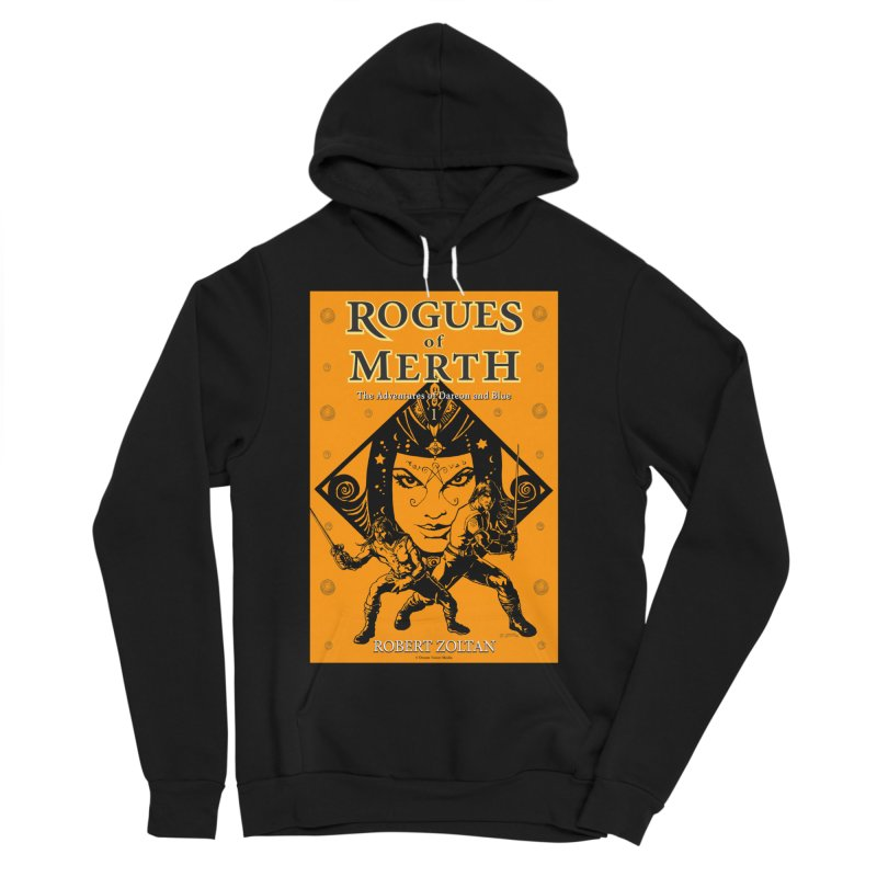 Rogues of Merth, Book 1 Cover Women's Sponge Fleece Pullover Hoody by ZoltanArt