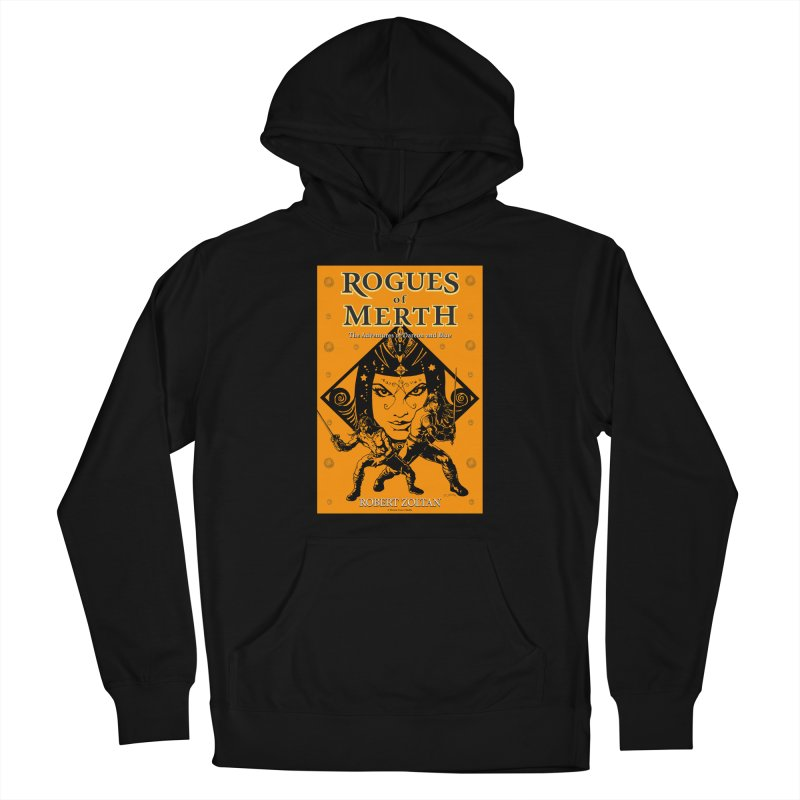 Rogues of Merth, Book 1 Cover Men's French Terry Pullover Hoody by ZoltanArt