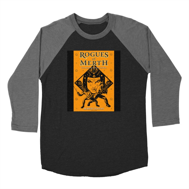 Rogues of Merth, Book 1 Cover Women's Longsleeve T-Shirt by ZoltanArt