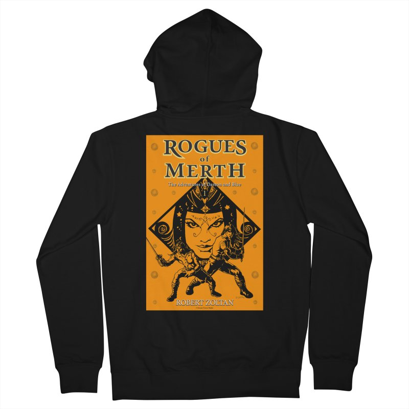 Rogues of Merth, Book 1 Cover Men's French Terry Zip-Up Hoody by ZoltanArt