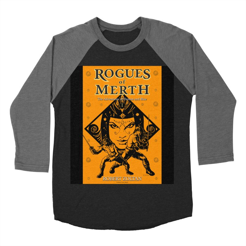 Rogues of Merth, Book 1 Cover Men's Baseball Triblend Longsleeve T-Shirt by ZoltanArt