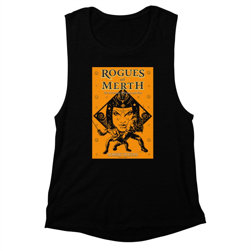 Rogues of Merth, Book 1 Cover Women's Muscle Tank by ZoltanArt