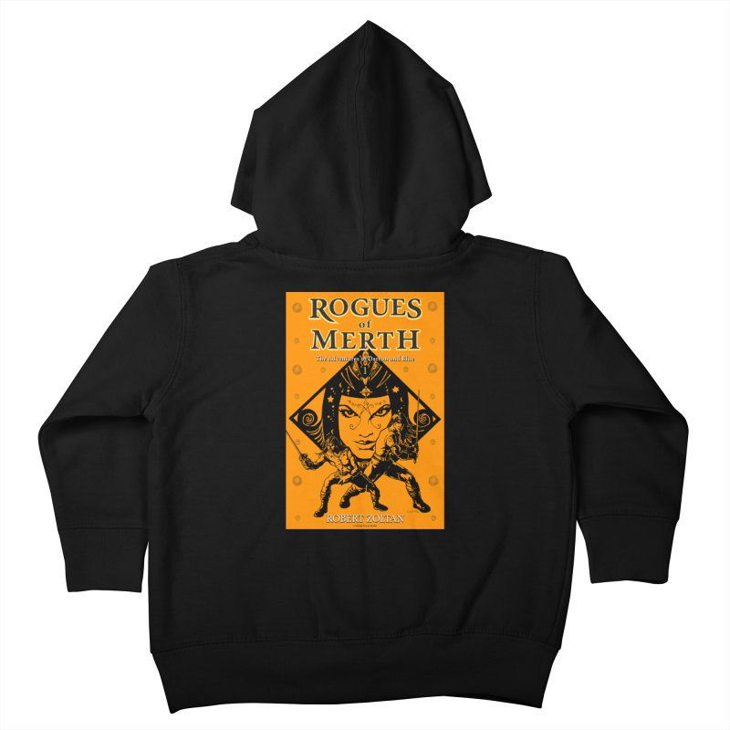 Rogues of Merth, Book 1 Cover Kids Toddler Zip-Up Hoody by ZoltanArt