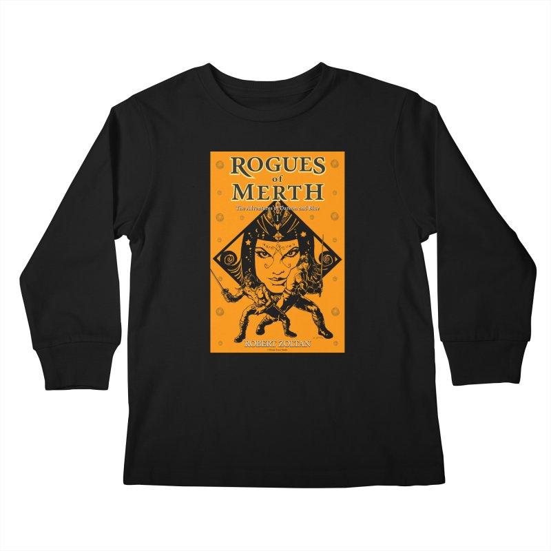Rogues of Merth, Book 1 Cover Kids Longsleeve T-Shirt by ZoltanArt