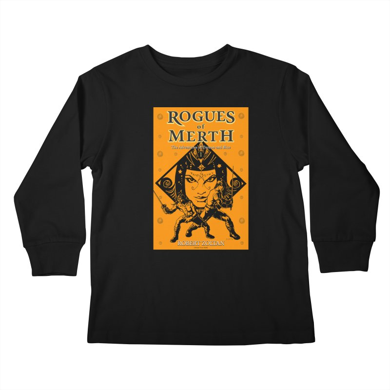 Rogues of Merth, Book 1 Cover Kids Longsleeve T-Shirt by ZoltanArt