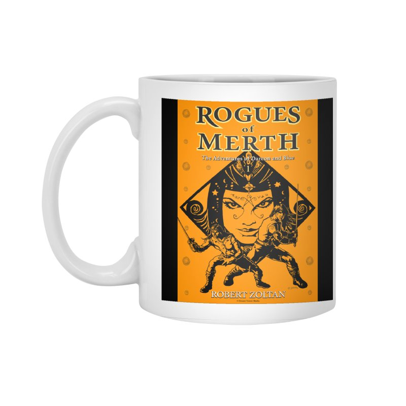 Rogues of Merth, Book 1 Cover Accessories Standard Mug by ZoltanArt