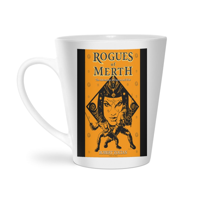 Rogues of Merth, Book 1 Cover Accessories Latte Mug by ZoltanArt