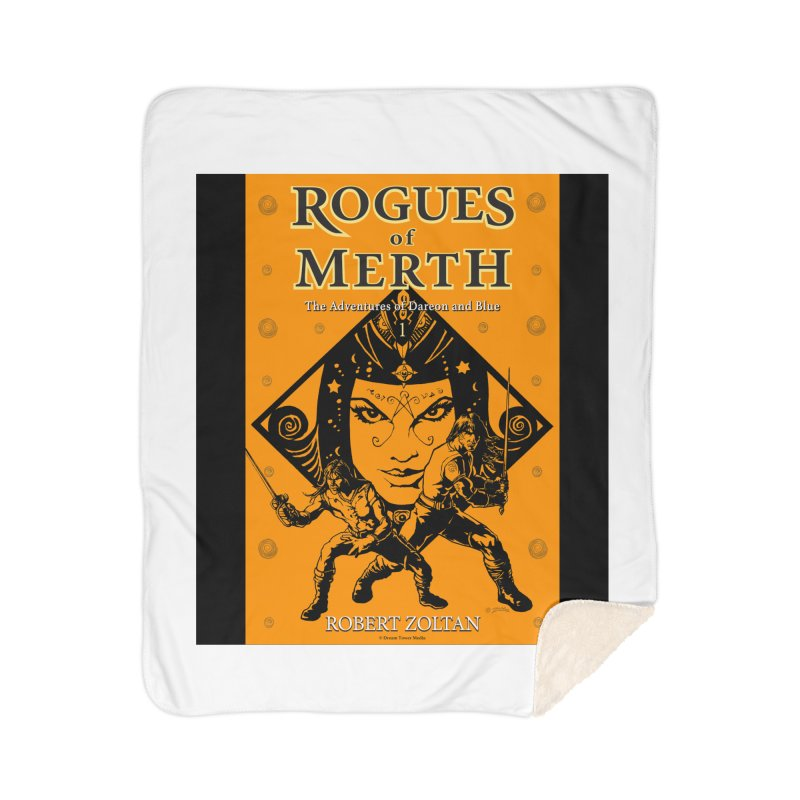 Rogues of Merth, Book 1 Cover Home Sherpa Blanket Blanket by ZoltanArt