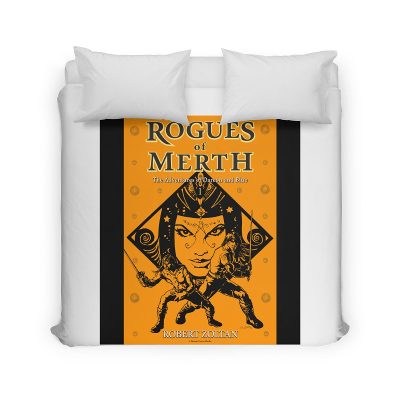 Rogues of Merth, Book 1 Cover Home Duvet by ZoltanArt