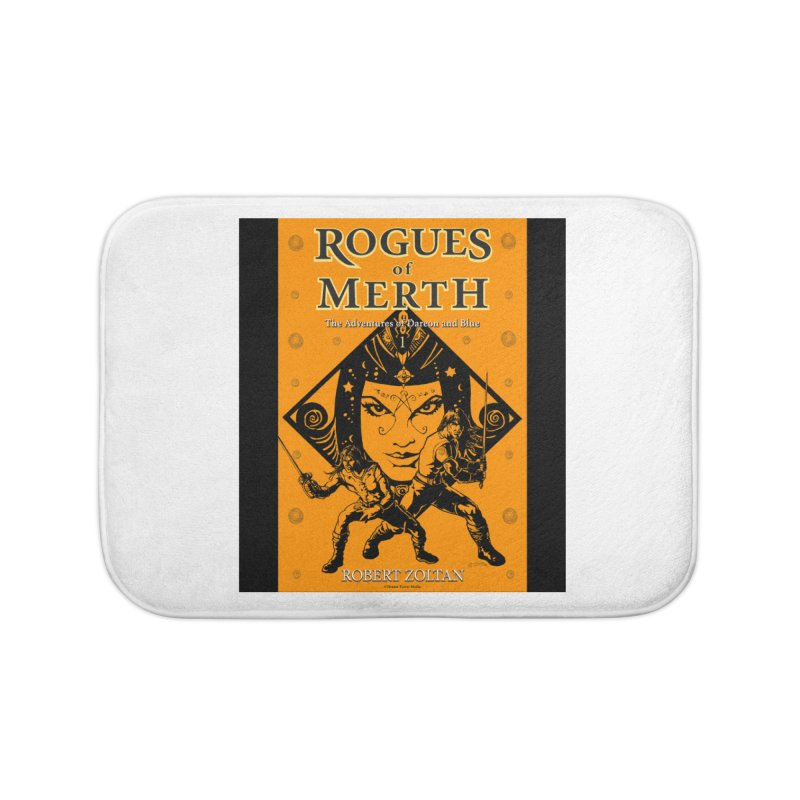 Rogues of Merth, Book 1 Cover Home Bath Mat by ZoltanArt