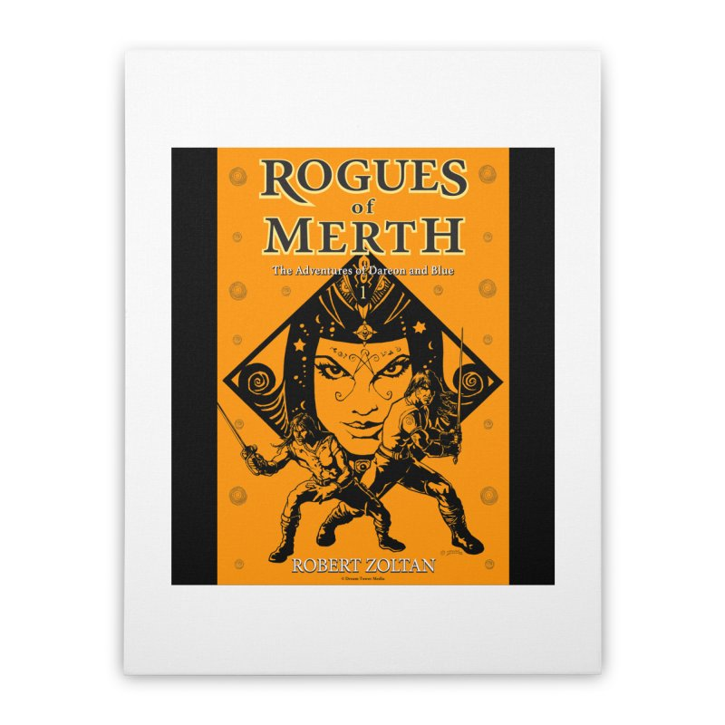Rogues of Merth, Book 1 Cover Home Stretched Canvas by ZoltanArt
