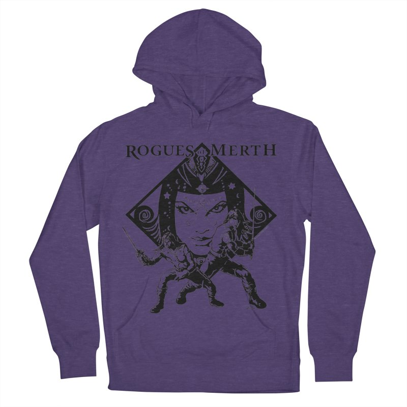 Rogues of Merth, Book 1 Cover, Design 2 Women's French Terry Pullover Hoody by ZoltanArt