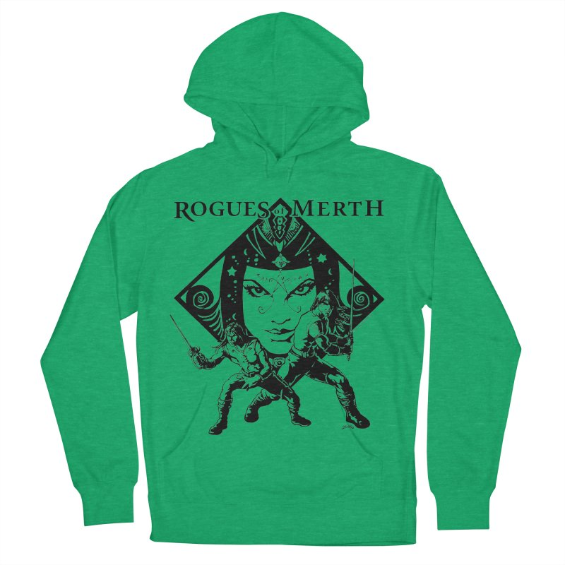 Rogues of Merth, Book 1 Cover, Design 2 Men's French Terry Pullover Hoody by ZoltanArt