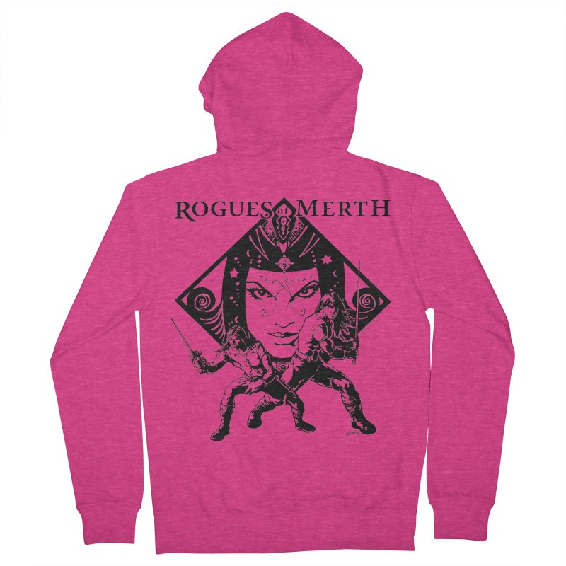 Rogues of Merth, Book 1 Cover, Design 2 Women's French Terry Zip-Up Hoody by ZoltanArt