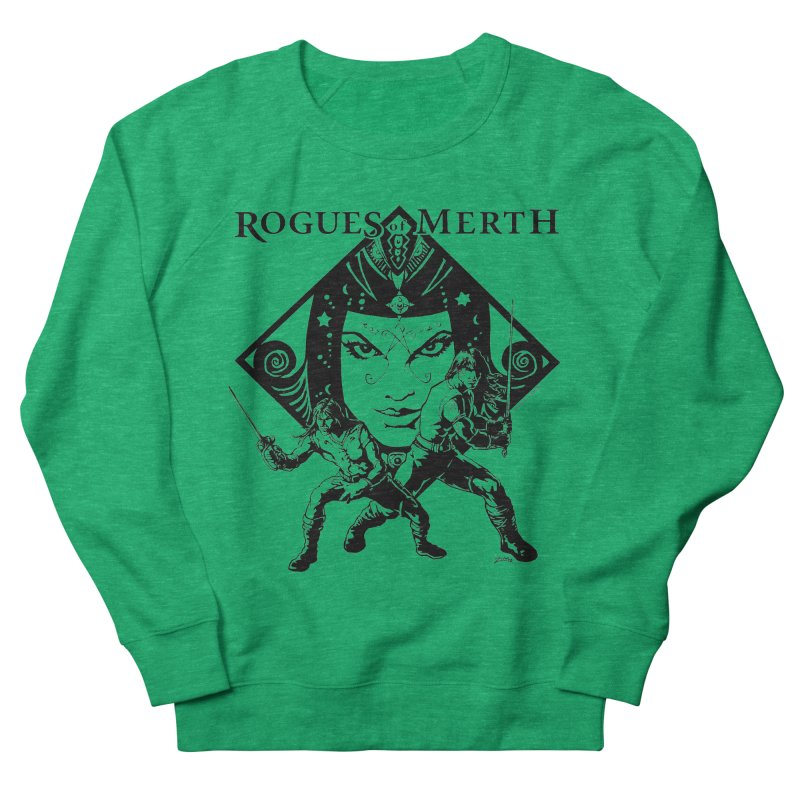 Rogues of Merth, Book 1 Cover, Design 2 Women's French Terry Sweatshirt by ZoltanArt