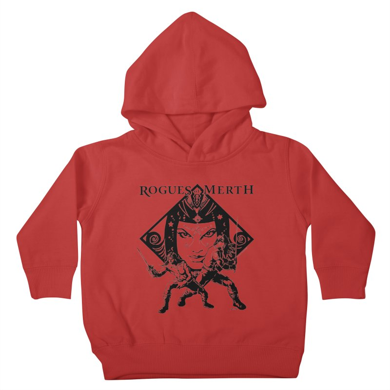 Rogues of Merth, Book 1 Cover, Design 2 Kids Toddler Pullover Hoody by ZoltanArt