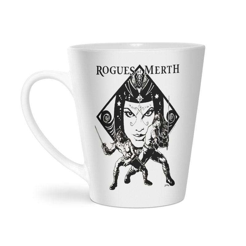 Rogues of Merth, Book 1 Cover, Design 2 Accessories Latte Mug by ZoltanArt
