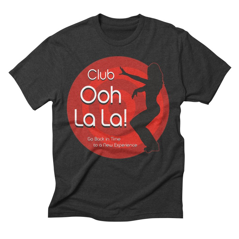 Club Ooh La La Men's Triblend T-Shirt by ZoltanArt