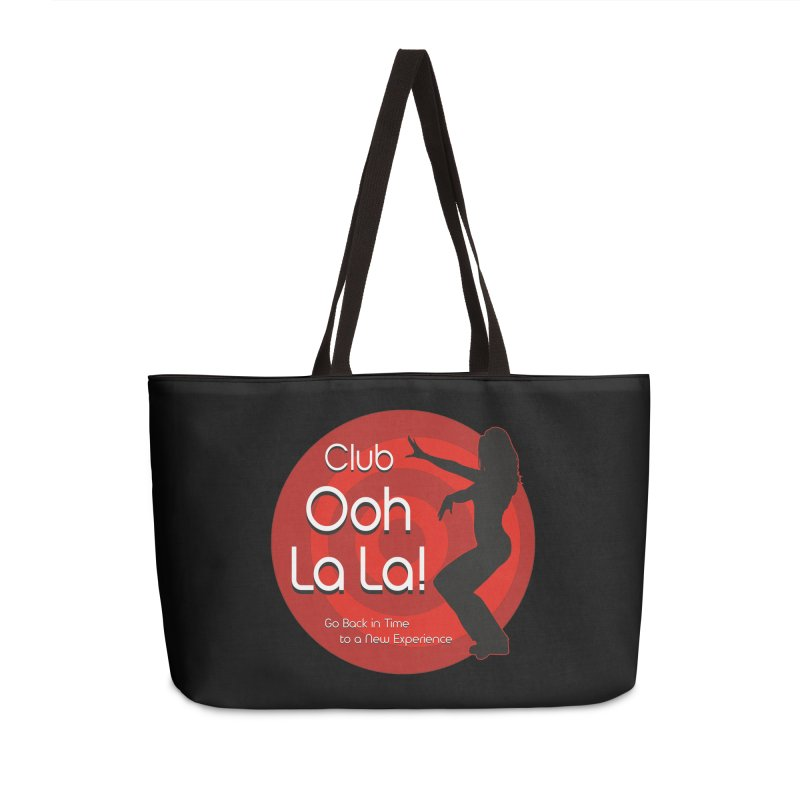 Club Ooh La La Accessories Weekender Bag Bag by ZoltanArt