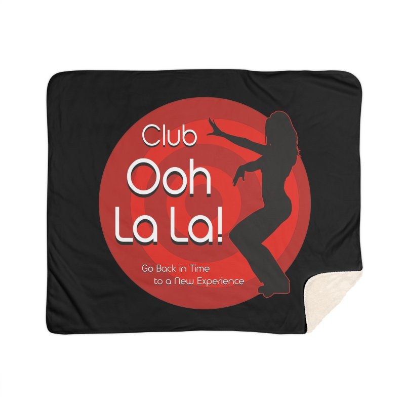 Club Ooh La La Home Sherpa Blanket Blanket by ZoltanArt