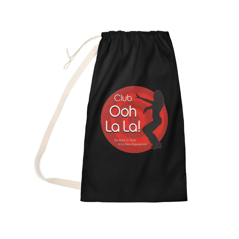 Club Ooh La La Accessories Laundry Bag Bag by ZoltanArt