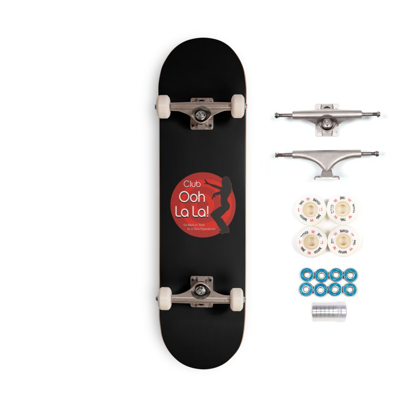 Club Ooh La La Accessories Complete - Premium Skateboard by ZoltanArt