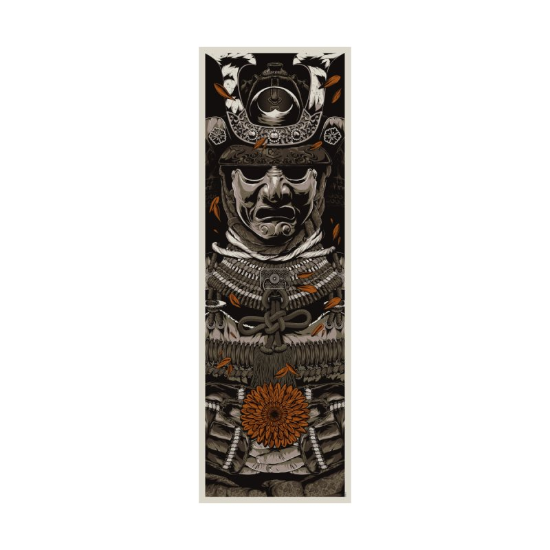 Warriors Dreams Skateboard - Samurai Armor Accessories Skateboard by Anthony Petrie Print + Product Design