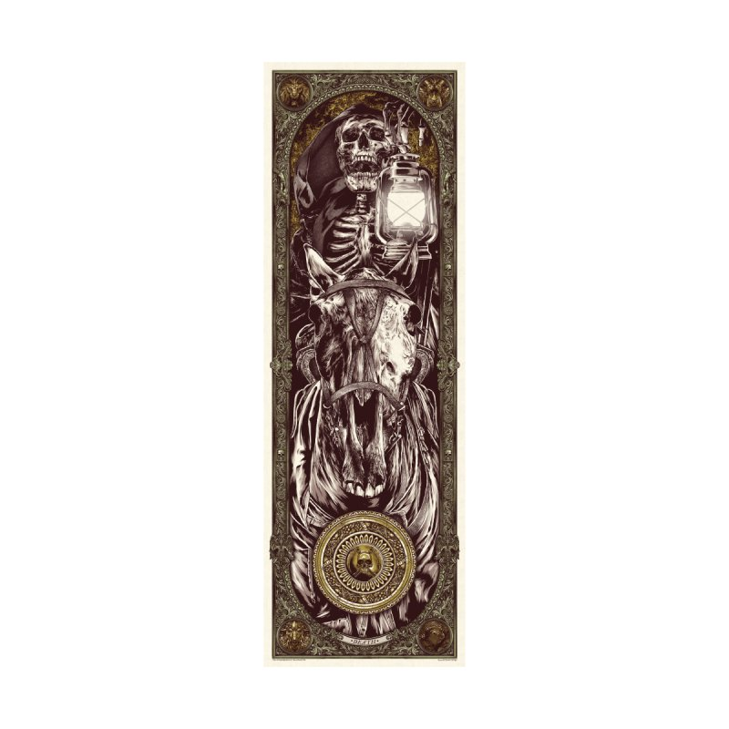 Warrior's Dreams Skateboard - Four Horsemen - Death by Anthony Petrie Print + Product Design