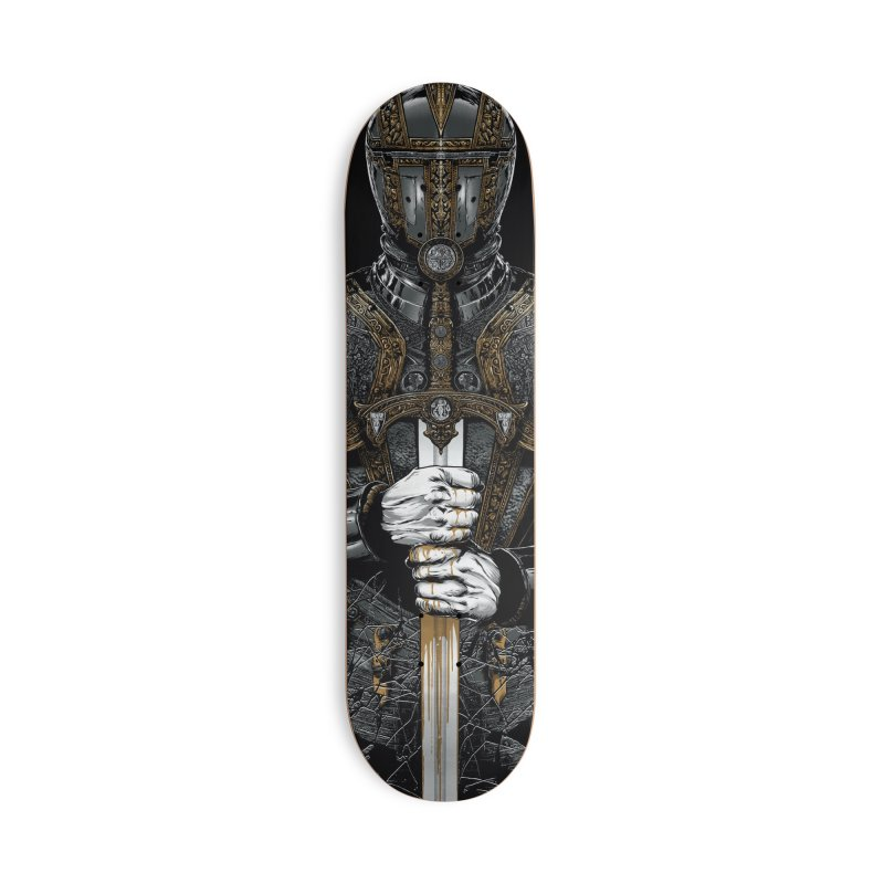Warrior's Dreams - Sword Knight Accessories Deck Only Skateboard by Anthony Petrie Print + Product Design