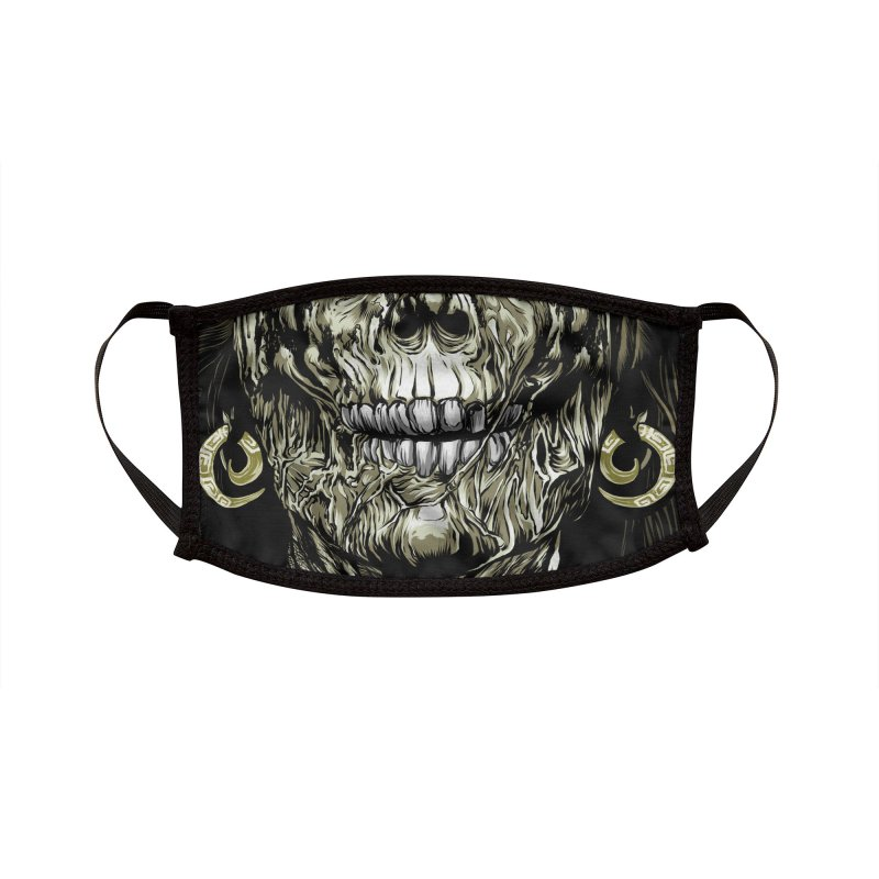 A Warrior's Dreams - Pestilence Accessories Face Mask by Anthony Petrie Print + Product Design