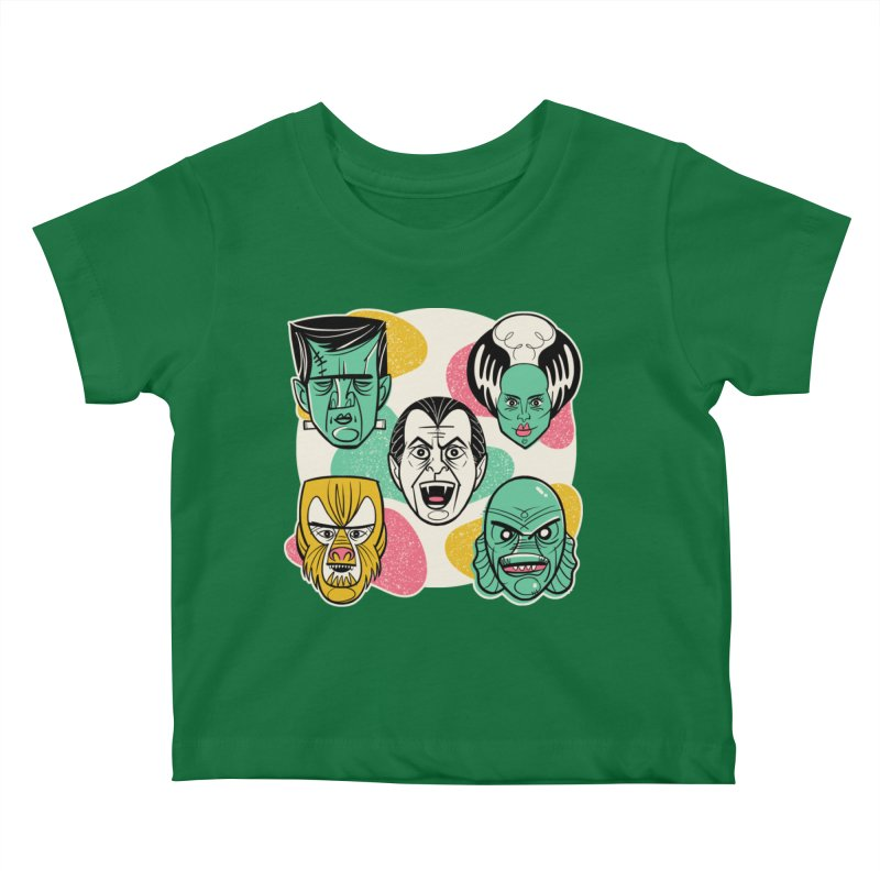Modster Squad - Monster Mash Kids Baby T-Shirt by Anthony Petrie Print + Product Design