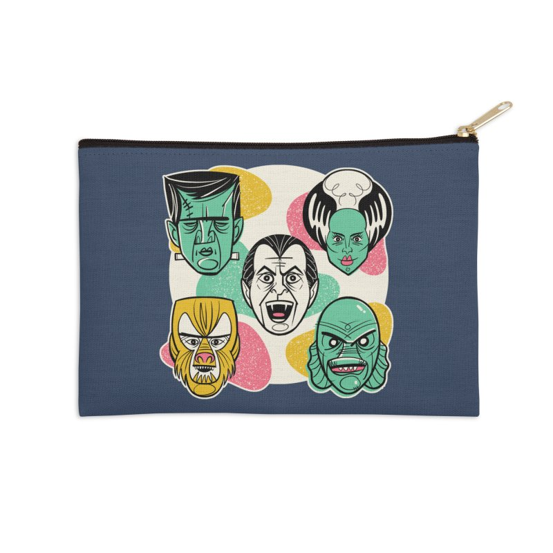 Modster Squad - Monster Mash Accessories Zip Pouch by Anthony Petrie Print + Product Design