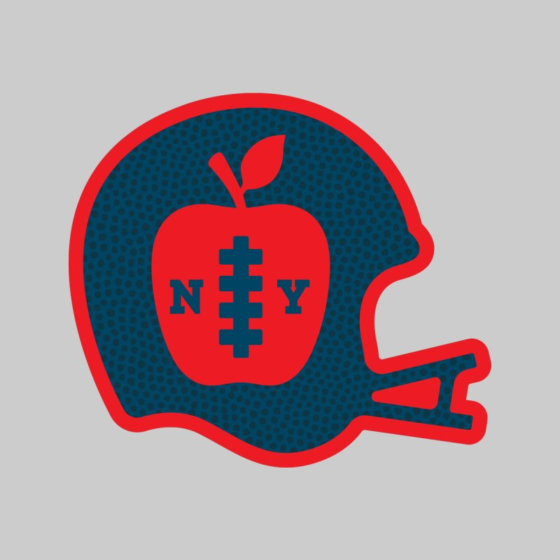 Big Apple Football Men's T-Shirt by Anthony Petrie Print + Product Design