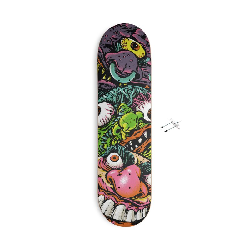 Ballsy Accessories Skateboard by Anthony Petrie Print + Product Design