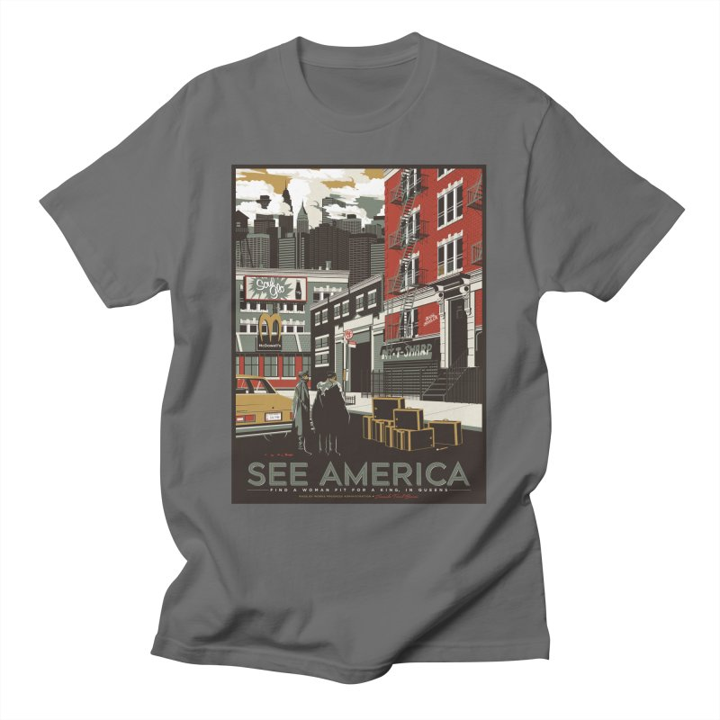 See America Men's T-Shirt by Anthony Petrie Print + Product Design
