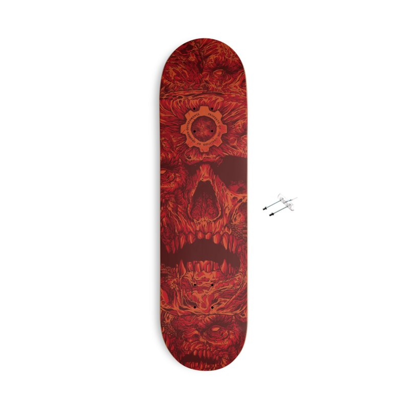 Lancer Accessories Skateboard by Anthony Petrie Print + Product Design