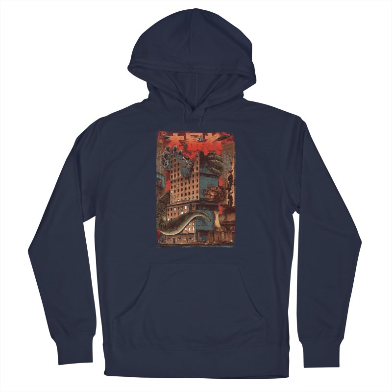 There Goes the Neighborhood Men's Pullover Hoody by Anthony Petrie Print + Product Design
