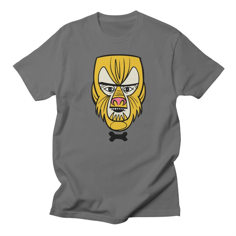 Modster Squad - Wolfie Men's T-Shirt by Anthony Petrie Print + Product Design