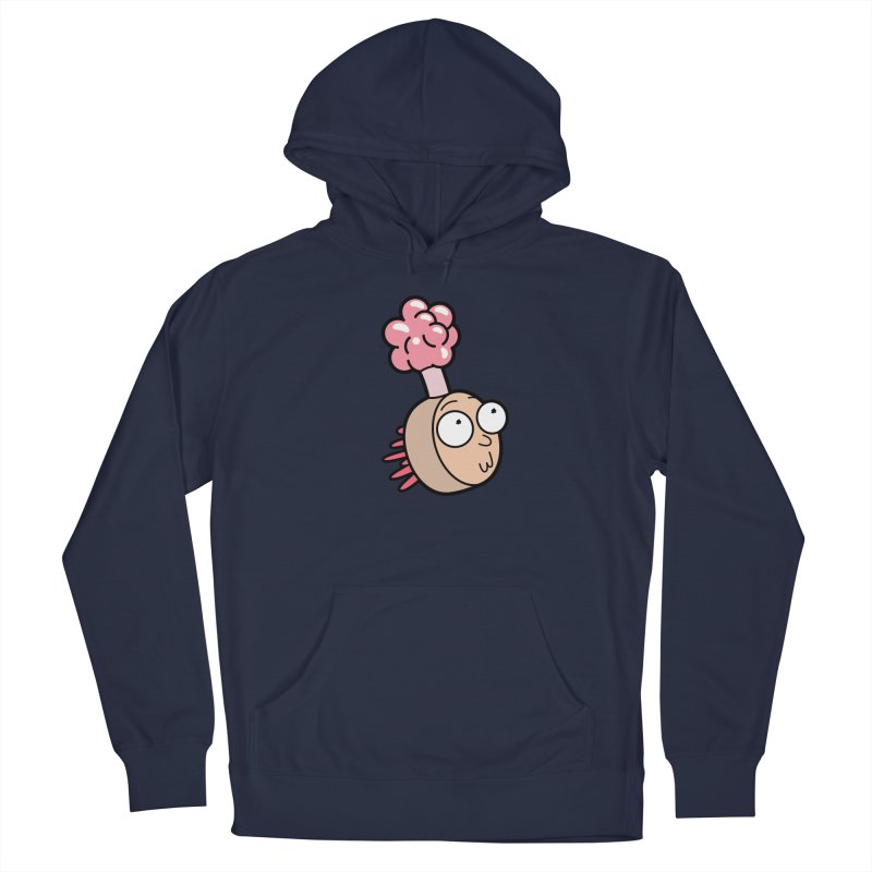 Plumbus Morty Men's Pullover Hoody by Anthony Petrie Print + Product Design