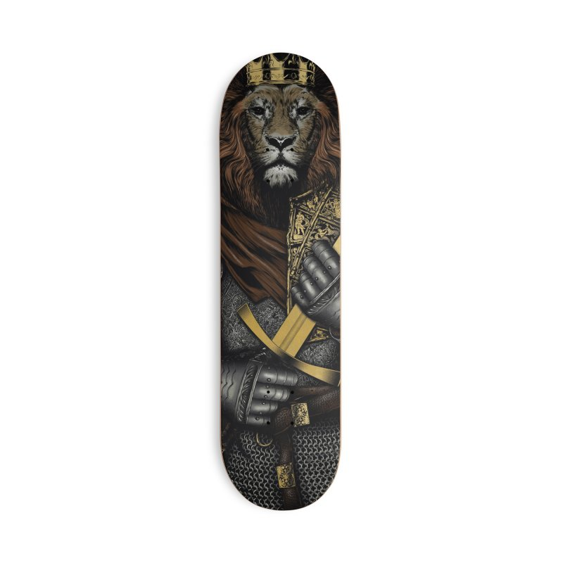 A Warrior's Dreams - Courage Accessories Skateboard by Anthony Petrie Print + Product Design