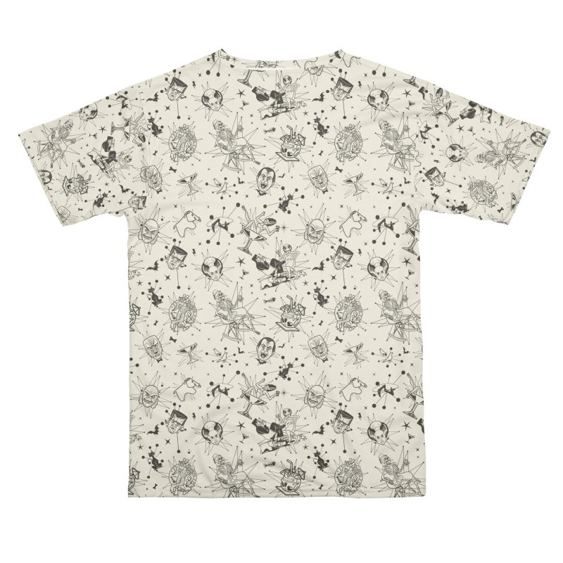 Modster Squad - Mid Century Modsters Men's Cut & Sew by Anthony Petrie Print + Product Design