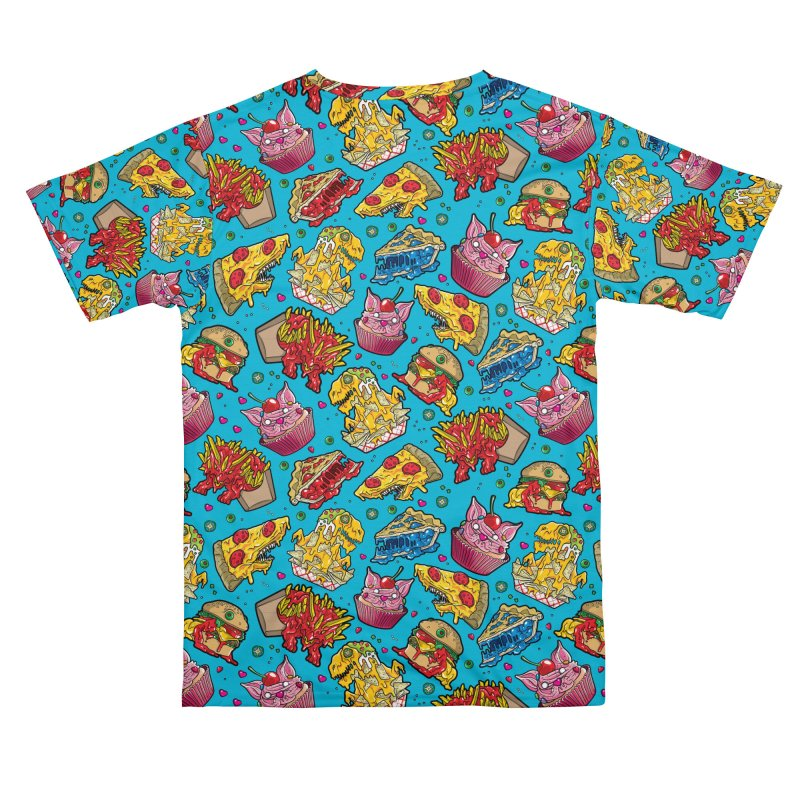 Feast Beast - Dinner Party Pattern Men's Cut & Sew by Anthony Petrie Print + Product Design