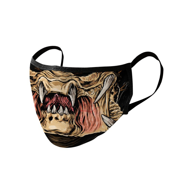 Hunter Accessories Face Mask by Anthony Petrie Print + Product Design