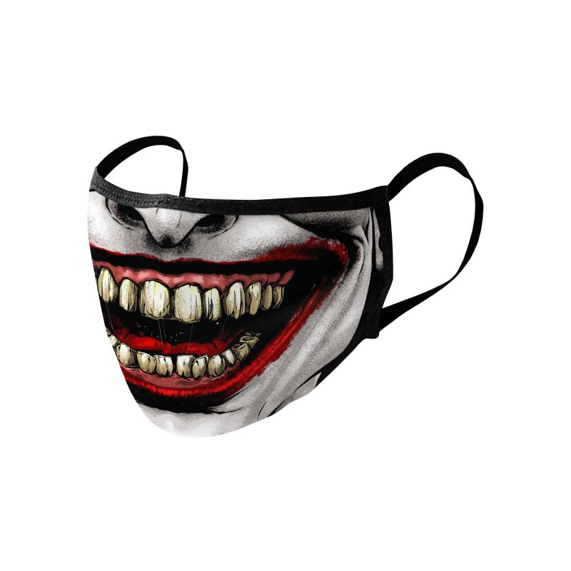 Jester Accessories Face Mask by Anthony Petrie Print + Product Design